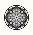 sacred geometry 0142 vector image vector image