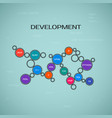 programming development concept vector image