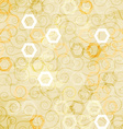 Abstract white cells seamless vector image vector image
