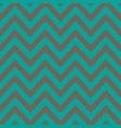 blue and silver chevron retro decorative pattern vector image