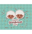 Couple of grandparents design vector image vector image