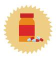 dietary supplement cartoon vector image