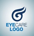 EYE CARE LOGO 12 vector image vector image