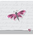 hand drawn card vector image vector image