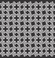 monochrome seamless pattern of intertwined vector image vector image