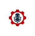 tool podcast logo icon design vector image