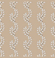 twig seamless pattern vector image vector image