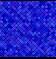 blue abstract diagonal square pattern background vector image vector image