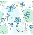 cute nature seamless pattern vector image vector image