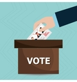 elections icon design vector image vector image