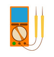 energy meter icon energy label for web on white vector image vector image
