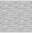 seamless texture vintage white brick wall vector image