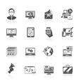 Seo Internet Marketing Icon vector image