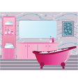 Bathroom vector image