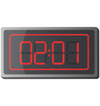 clock counter electronic device for fixing vector image