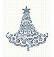 Cristmas tree vector image vector image