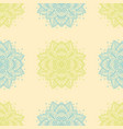 Indian pattern arabic oriental motifs vector image