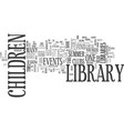 library events text background word cloud concept