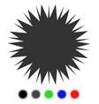 microbe spore flat icon vector image vector image