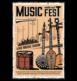 middle east music festival musical instruments vector image