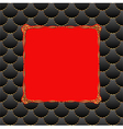 red and black background and golden frame