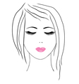 spa facial vector image vector image