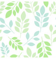 chaotic seamless pattern of abstract leaves on a vector image vector image