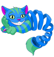 Disappearing Cheshire Cat vector image vector image
