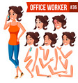 Office worker woman modern employee