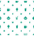 refreshment icons pattern seamless white vector image vector image