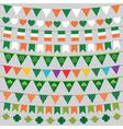 St Patricks Day decoration set vector image vector image