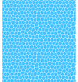 Summer seamless water pattern isolated on blue vector image vector image