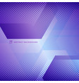 abstract geometric hexagons overlapping with vector image vector image