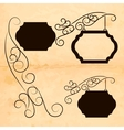 Decoration signs vector image