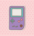 game boy icon vector image