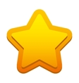 game star isolated icon vector image