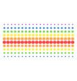 internet shape halftone spectrum array vector image vector image