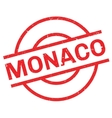 Monaco rubber stamp vector image vector image