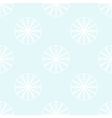White snowflakes seamless pattern vector image vector image