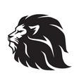wild lion icon logo mascot template vector image vector image