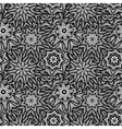 Seamless black white pattern vector image