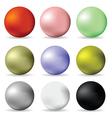 balls vector image vector image