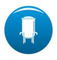 barrel icon blue vector image