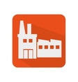 building factory isolated icon vector image