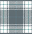 gray tartan plaid scottish pattern vector image vector image
