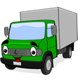 Happy truck vector image