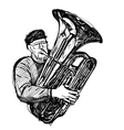 tubist vector image vector image
