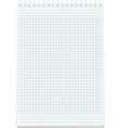 blank sheet paper vector image vector image