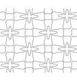 Dental pattern vector image