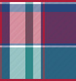 diagonal check plaid seamless fabric texture vector image vector image